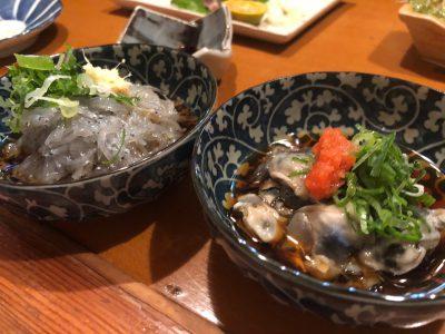 ドロメと酢牡蠣