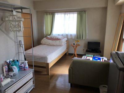 出稼ぎの時に宿泊する寮の写真