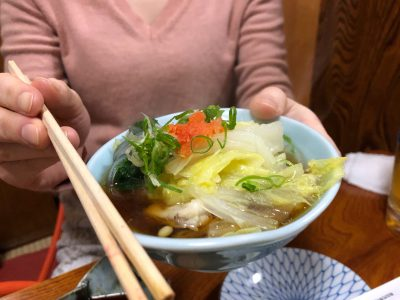 写真がないですがクエ鍋を食べておりみさこさんもご一緒しております。