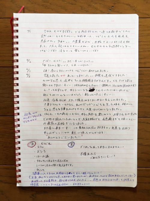 出稼ぎノート②