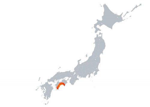 高知県の場所